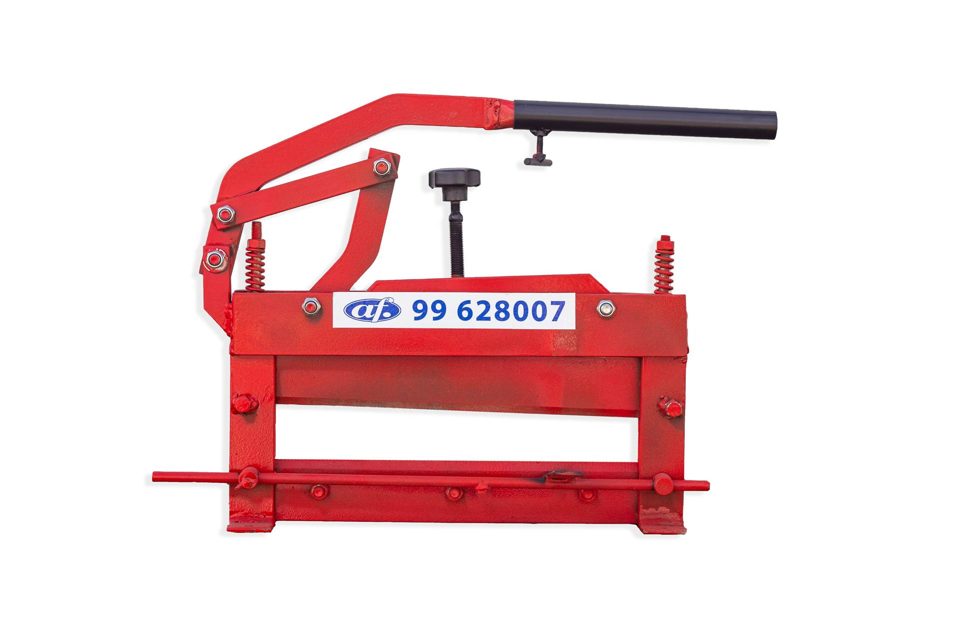 Read more about the article Steel hand-held cutter for sidewalk slab, and blocks