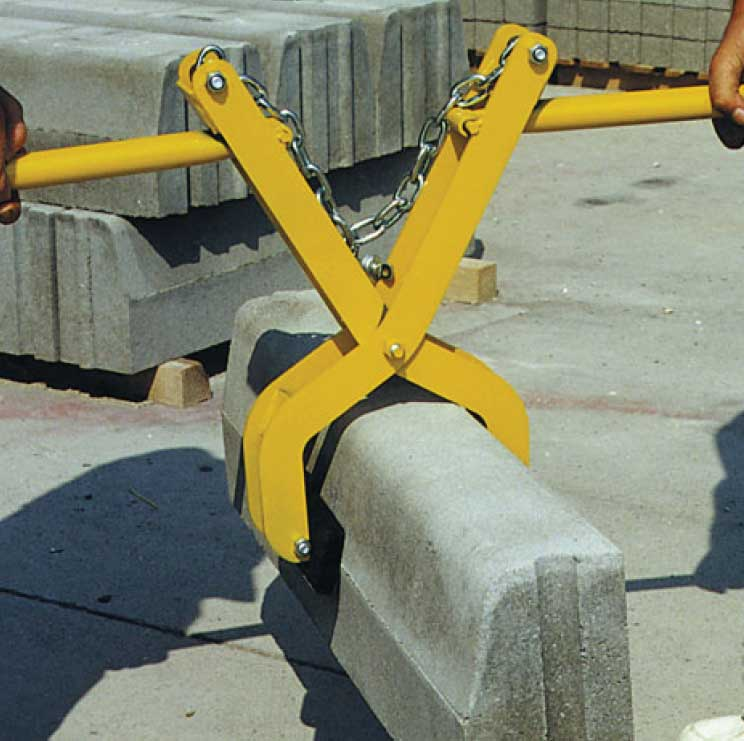 Curb-Laying Grippers 30-200mm (Heavy Type)